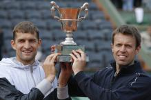 Mirnyi and Nestor win men's doubles title