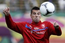 Czech striker Baros retires from international football