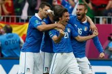 Pirlo gives Italy '7/10' after draw with Spain