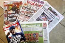 Polish press evokes national pride at Euro