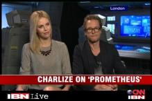 Charlize Theron, Guy Pearce talk about 'Prometheus'