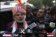 Rath Yatra: Modi performs ritual of cleaning chariots