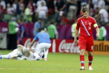 Russia in shock following early Euro 2012 exit