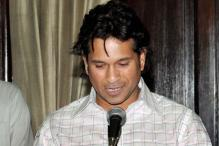 Sachin Tendulkar takes oath as Rajya Sabha MP