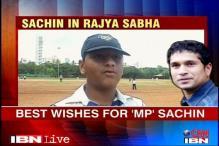 Mumbai's best wishes for 'MP' Sachin