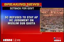 SC refuses to stay HC order against 4.5 pc sub-quota