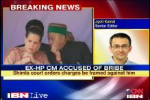 Charges framed against ex-Himachal CM in a CD case