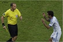 Greece were victimized by referees: Karagounis