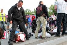 Poland, Russian fans turn violent at Euro 2012
