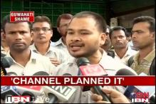 Guwahati molestation: 'News Live staged it'
