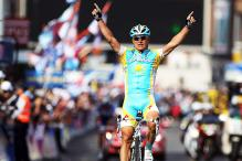 Vinokourov of Kazakhstan wins Olympic road race