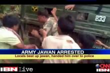 Army jawan molests college girl in Assam, arrested