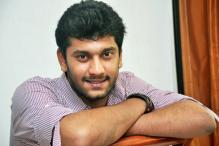 Tamil Actor Arulnidhi blows candle on his birthday