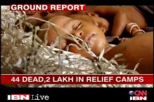 Assam violence: Relief camps swell with refugees