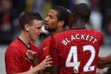 Bebe late strike earns draw for Man United