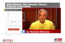 Video blog: Ban Tobcacco in Karnataka
