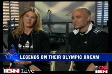 Graf, Agassi recall winning Olympic gold