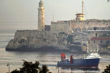 First US cargo ship arrives in Cuba in 50 years