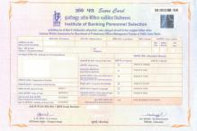 IBPS banking exams: CWE Score Card