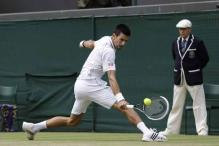 Djokovic beats Mayer to reach Wimbledon semis