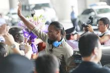 Warm welcome for Drogba in Shanghai