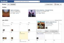 Facebook redesigns Events, adds new views