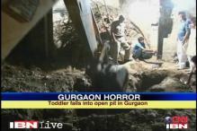 Gurgaon: 2-yr-old boy falls in a 20 feet deep pit