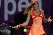 Radwanska upsets Hantuchova in California