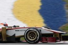 Qing Hua becomes first Chinese to drive F1 car
