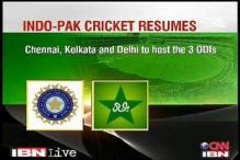 Indo-Pak cricket set to resume