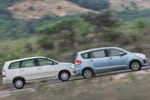 2012 Maruti Ertiga vs Toyota Innova
