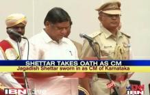 Shettar sworn in as Karnataka's 3rd CM in 1 year