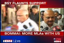 Karnataka BJP crisis: BSY's show of strength
