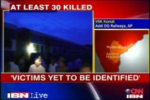 Tamil Nadu Express fire: 'Victims yet to be identified'