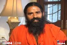 Ramdev sits on dharna against Balkrishna's arrest