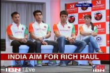 Indian boxers leave on mission gold