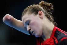 One-armed TT player wins hearts at Olympics