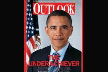 Outlook puts Obama 'The Underachiever' on cover