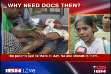 Doctors are hardly there at UP govt hospital: patients
