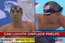 Can Lochte displace Phelps in London?