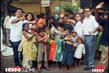 Mumbai: Showering gifts on the poor during rains