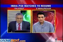Indo-Pak ties great news for fans: Manjrekar