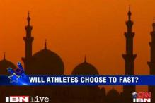 Ramadan dilemma for athletes in London