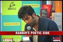 Ranbir Kapoor reveals his poetic side