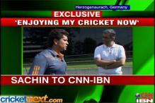 I'm enjoying my cricket: Sachin Tendulkar