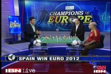 Champions of Europe: Tired Italy were outplayed