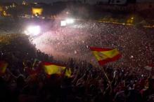 Spain erupts in joy after historic Euro win