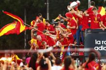 Spain celebrates Euro triumph