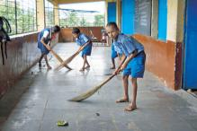 Mumbai: Students forced to sweep floors before class