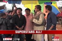 Amitabh shoots an ad with four southern superstars